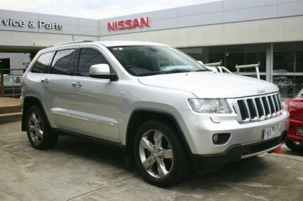 2011 Jeep Grand Cherokee WK MY2011 Laredo Bright Silver 5 Speed Sports Automatic Wagon