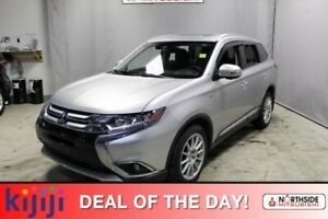 2018 Mitsubishi Outlander AWC GT Navigation (GPS),  Leather,  Ba