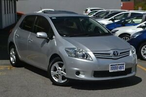 2010 Toyota Corolla ZRE152R MY11 Conquest Silver Pearl 6 Speed Manual Hatchback Claremont Nedlands Area Preview
