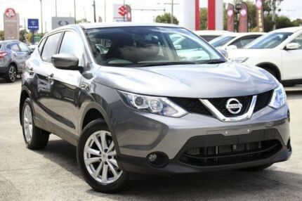 2017 Nissan Qashqai J11 TS Gun Metallic 1 Speed Constant Variable Wagon