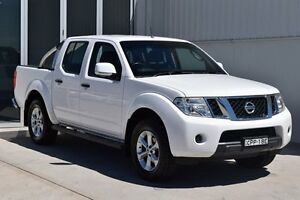 2013 Nissan Navara D40 MY12 ST (4x4) White 5 Speed Automatic South Maitland Maitland Area Preview