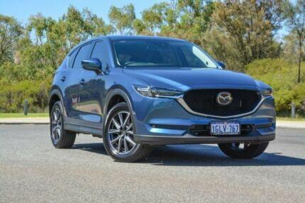 2018 Mazda CX-5 KF4WLA Akera SKYACTIV-Drive i-ACTIV AWD Blue 6 Speed Sports Automatic Wagon Wilson Canning Area Preview