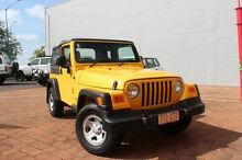 2006 Jeep Wrangler TJ Renegade (4x4) Yellow 6 Speed Manual Softtop The Gardens Darwin City Preview