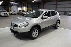 2011 Nissan Dualis J10 Series II MY2010 ST Hatch Silver 6 Speed Manual Hatchback Maryville Newcastle Area Preview