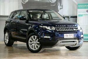 2014 Land Rover Range Rover Evoque L538 MY14 TD4 Pure Tech Blue 9 Speed Sports Automatic Wagon