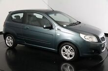 2010 Holden Barina TK MY10 Green 5 Speed Manual Hatchback Victoria Park Victoria Park Area Preview