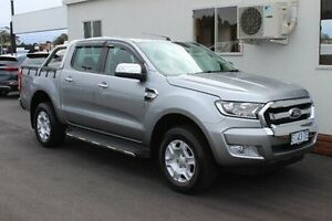 2015 Ford Ranger PX MkII XLT Double Cab Silver 6 Speed Sports Automatic Utility Devonport Devonport Area Preview