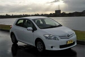 2012 Toyota Corolla ZRE152R MY11 Ascent White 4 Speed Automatic Hatchback Five Dock Canada Bay Area Preview