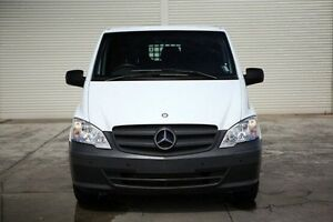 2012 Mercedes-Benz Vito 639 MY11 113CDI LWB White 5 Speed Automatic Van Seaford Frankston Area Preview