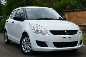 2013 Suzuki Swift FZ GA White 4 Speed Automatic Hatchback Thorngate Prospect Area Preview