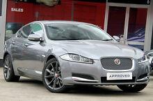 2014 Jaguar XF MY14 2.2D Premium Luxury Grey 8 Speed Automatic Sedan Petersham Marrickville Area Preview