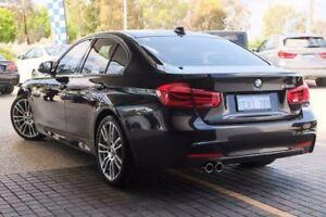 2015 BMW 330I F30 LCI M Sport Black 8 Speed Sports Automatic Sedan
