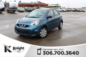 2016 Nissan Micra S -Certified Pre-Owned