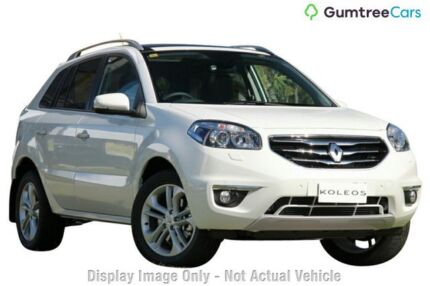 2013 Renault Koleos H45 Phase II Privilege White 1 Speed Constant Variable Wagon Osborne Park Stirling Area Preview