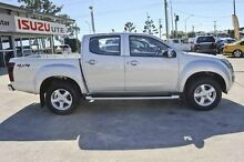 2016 Isuzu D-MAX MY15 LS-U Crew Cab Silver 5 Speed Sports Automatic Utility Launceston Launceston Area Preview