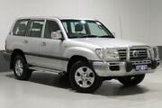 2007 Toyota Landcruiser UZJ100R Upgrade II GXL (4x4) Silver 5 Speed Automatic Wagon Bentley Canning Area Preview