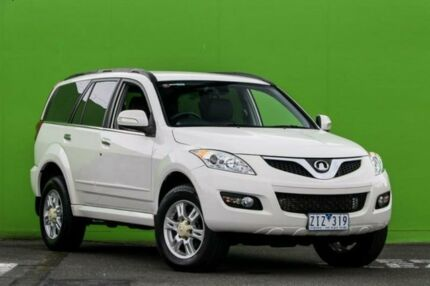 2012 Great Wall X200 K2 MY12 White 6 Speed Manual Wagon