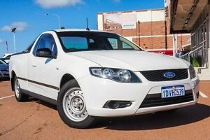 2010 Ford Falcon FG Ute Super Cab White 4 Speed Sports Automatic Utility Fremantle Fremantle Area Preview