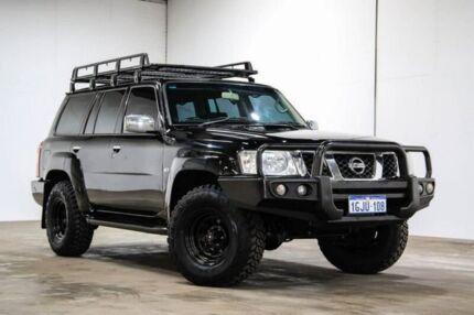 2013 Nissan Patrol ST ST Black Manual Wagon