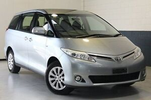 2012 Toyota Tarago ACR50R MY09 GLi Silver 4 Speed Sports Automatic Wagon Nailsworth Prospect Area Preview