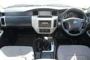 2014 Nissan Patrol Y61 GU 9 ST White 5 Speed Manual Wagon Acacia Ridge Brisbane South West Preview