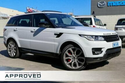 2015 Land Rover Range Rover Sport L494 16MY SDV8 CommandShift HSE White 8 Speed Sports Automatic