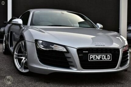 2010 Audi R8 MY10 Quattro Silver 6 Speed Manual Coupe