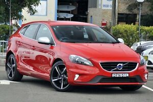 2016 Volvo V40 M MY16 T5 R-Design Passion Red 8 Speed Automatic Hatchback Dee Why Manly Area Preview