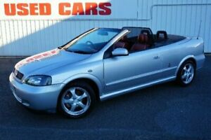 2002 Holden Astra TS MY03 Silver 4 Speed Automatic Convertible Woodridge Logan Area Preview