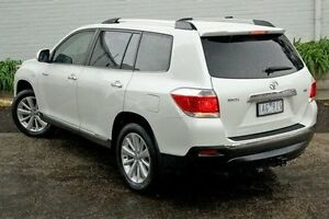 2013 Toyota Kluger White Sports Automatic Wagon Burwood Whitehorse Area Preview