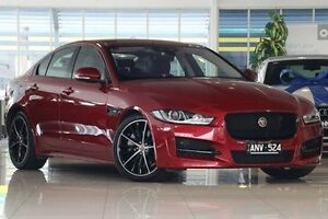 2015 Jaguar XE X760 MY16 20T R-Sport Red 8 Speed Sports Automatic Sedan Dandenong Greater Dandenong Preview