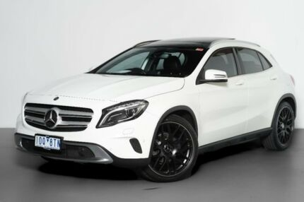 2015 Mercedes-Benz GLA 200 CDI X156 805+055MY DCT White 7 Speed Sports Automatic Dual Clutch Wagon Port Melbourne Port Phillip Preview
