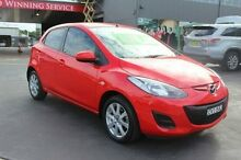2014 Mazda 2 DE MY14 Neo Sport Red 4 Speed Automatic Hatchback South Maitland Maitland Area Preview