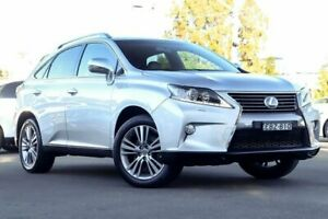 2015 Lexus RX350 GGL15R Luxury Silver 6 Speed Sports Automatic Wagon Kirrawee Sutherland Area Preview