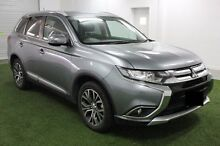 2015 Mitsubishi Outlander ZK MY16 LS 4WD Silver 6 Speed Constant Variable Wagon Devonport Devonport Area Preview