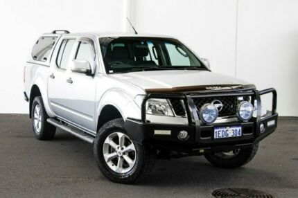 2013 Nissan Navara D40 MY12 ST (4x4) Silver 6 Speed Manual Dual Cab Pick-up Myaree Melville Area Preview