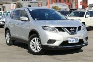 2014 Nissan X-Trail T32 ST X-tronic 2WD Brilliant Silver 7 Speed Constant Variable Wagon Northbridge Perth City Area Preview