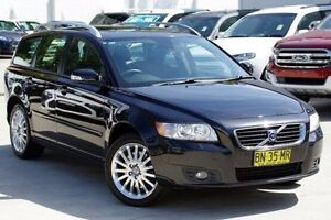 2007 Volvo V50 MY08 T5 Blue 5 Speed Sports Automatic Wagon Blacktown Blacktown Area Preview