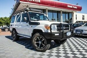 2012 Toyota Landcruiser VDJ76R MY10 Workmate White 5 Speed Manual Wagon Alfred Cove Melville Area Preview