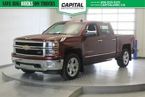 2014 Chevrolet Silverado 1500 LTZ Crew Cab *Heated Leather-Remot