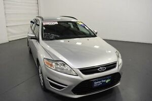 2013 Ford Mondeo MC LX Tdci Moondust Silver 6 Speed Direct Shift Wagon Moorabbin Kingston Area Preview