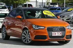 2013 Audi A1 8X MY13 Attraction Sportback S tronic Orange 7 Speed Sports Automatic Dual Clutch Moorooka Brisbane South West Preview