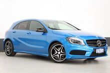 2014 Mercedes-Benz A200 176 MY14 BE Blue 7 Speed Automatic Hatchback Bentley Canning Area Preview
