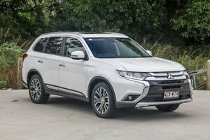 2016 Mitsubishi Outlander ZK MY16 Exceed 4WD Starlight 6 Speed Constant Variable Wagon