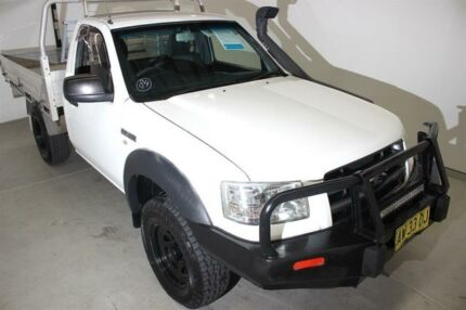 2008 Ford Ranger PJ XL White 5 Speed Manual Cab Chassis Maryville Newcastle Area Preview