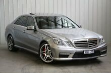 2010 Mercedes-Benz E63 W212 AMG SPEEDSHIFT MCT Grey 7 Speed Sports Automatic Sedan Port Melbourne Port Phillip Preview