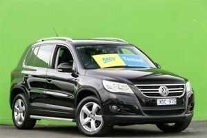 2009 Volkswagen Tiguan 5N MY10 147TSI 4MOTION Black 6 Speed Sports Automatic Wagon Ringwood East Maroondah Area Preview