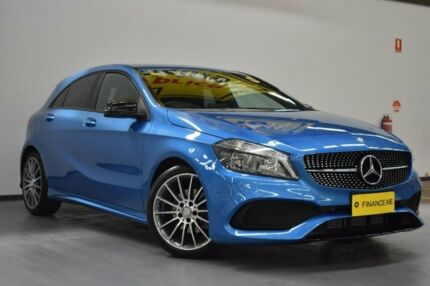 2016 Mercedes-Benz A180 W176 806MY D-CT Blue 7 Speed Sports Automatic Dual Clutch Hatchback Brooklyn Brimbank Area Preview