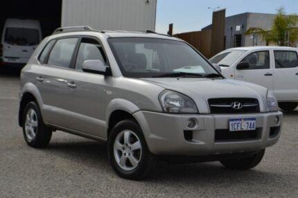 2006 Hyundai Tucson JM City Silver 4 Speed Sports Automatic Wagon Wangara Wanneroo Area Preview