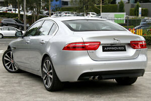 2015 Jaguar XE 20d PRESTIGE 20D Prestige Silver 8 Speed Automatic Sedan Petersham Marrickville Area Preview